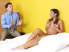 Watch teenager spouses being presented to unpleasant screwing and blowing