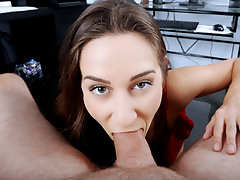 Pretty cock deep-throating stepdaughter Cassidy Klein gets boned by her daddys big rock hard lovestick after she found out some secrets of her parent at the photography studio.