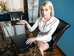 I enjoy my uber-sexy stepmom, Katie Monroe, so it hurts when she blows off our special movie night yet again. I guess it's not so bad, especially since she's so fine at finding other ways to make it up to me.
